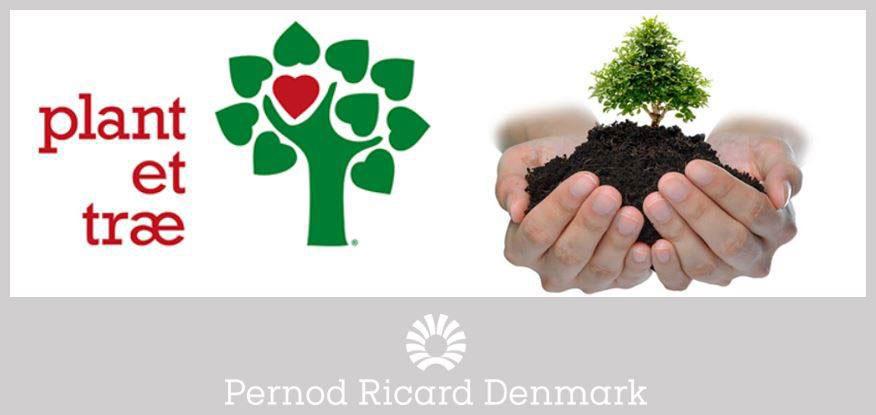 Pernod Ricard samarbejde med plant et trae