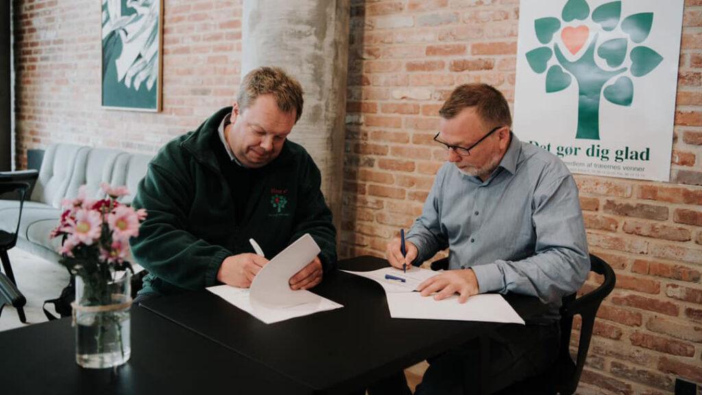 Fundrasing aftale Aarhus Kommune aftale underskrives Nyheder
