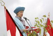 Kongens Alle indvielse Prinsesse Benedikte