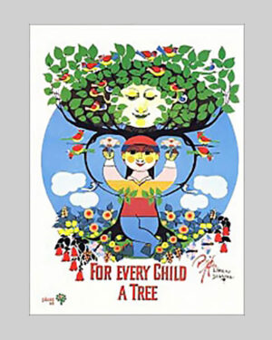 Plakat – For Every Child a Tree
