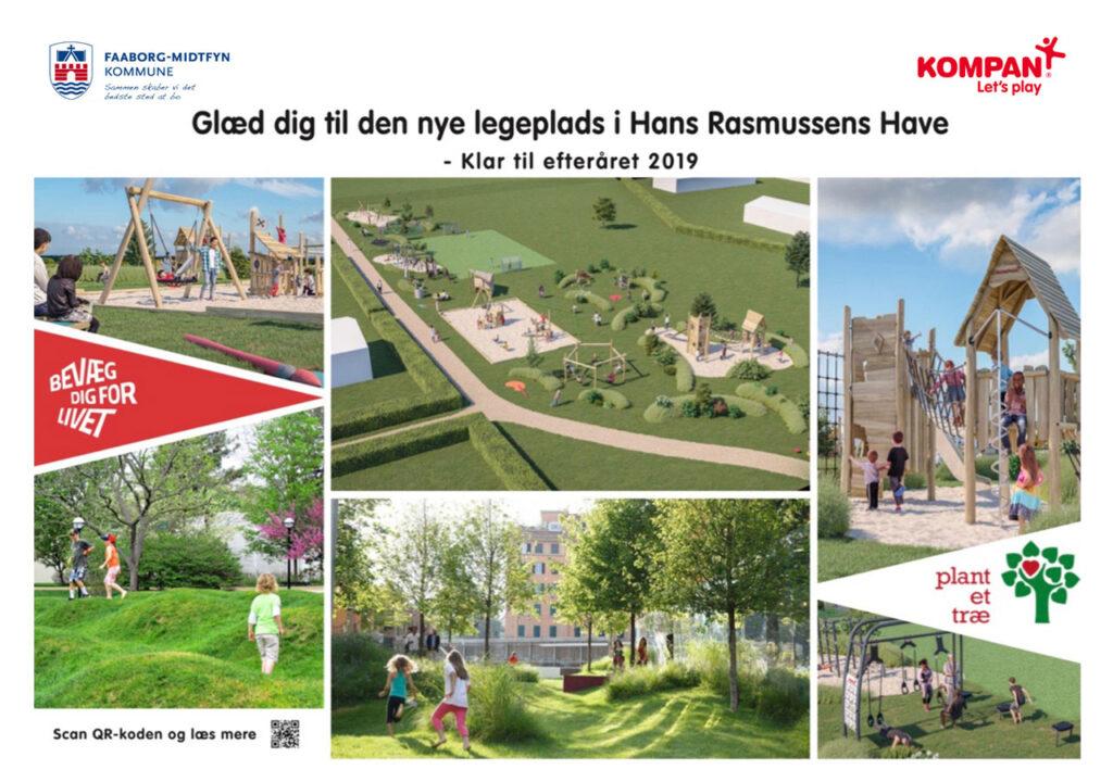Projekt Hans Rasmussens Have Plakat luft