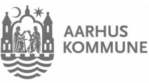 Samarbejdspartner Aarhus Kommune logo Lille