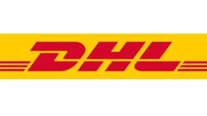 Samarbejdspartner DHL logo Lille