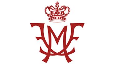 Sponsor Kongehuset monogram Lille