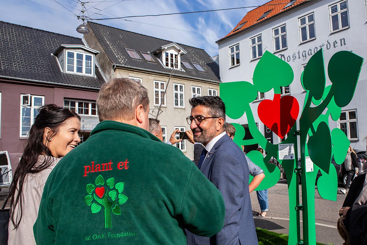 Lancering af bytraer i Aarhus 134