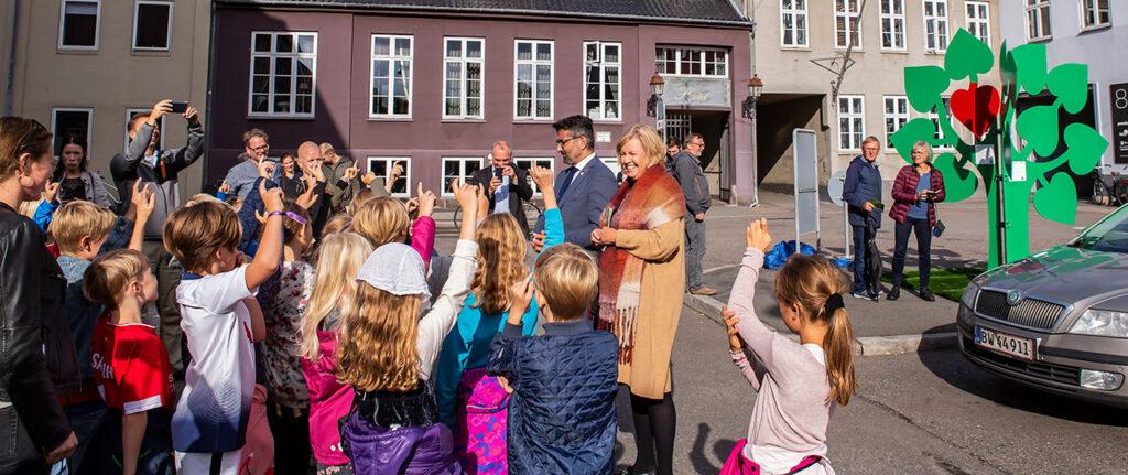 Lancering af bytraer i Aarhus 98-01