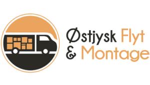 Sponsor Oestjysk Flyt og Montage Logo Lille