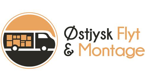 Sponsor Oestjysk Flyt og Montage logo