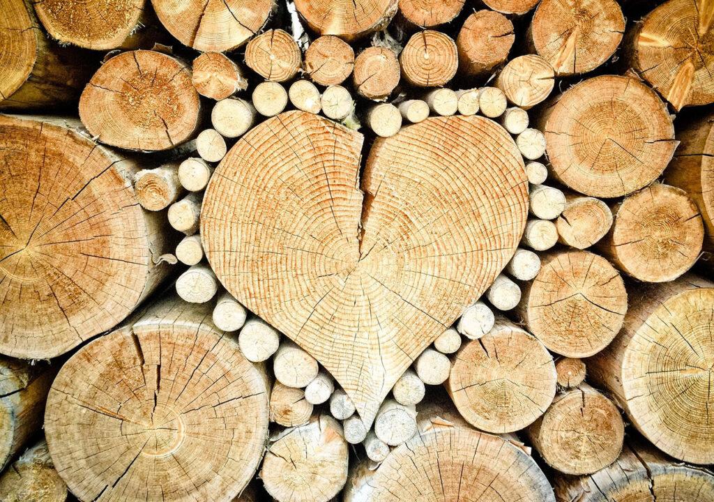 Hjerte-formet-i-braendestabel